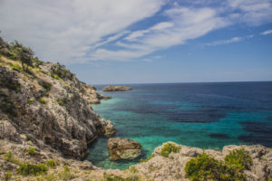 Blue Cave beach
