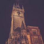 Noční Staroměstské náměstí